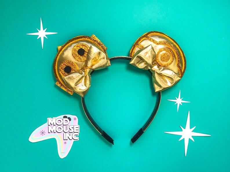 C-3PO Star Wars Ears  C3PO Mouse Ears  C3PO Mickey Ears  image 0