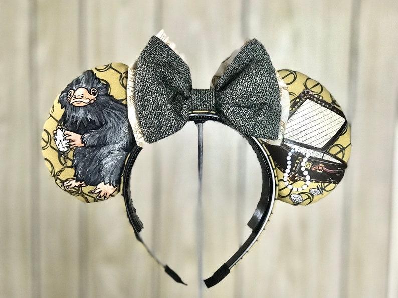 Fantastic Beasts Niffler Ear Headband w/ Bow image 0