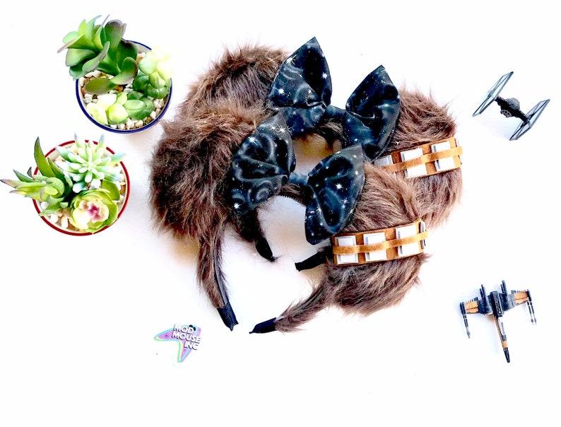 Chewbacca Star Wars Inspired Mickey Ears  Chewy chewie  1 image 0