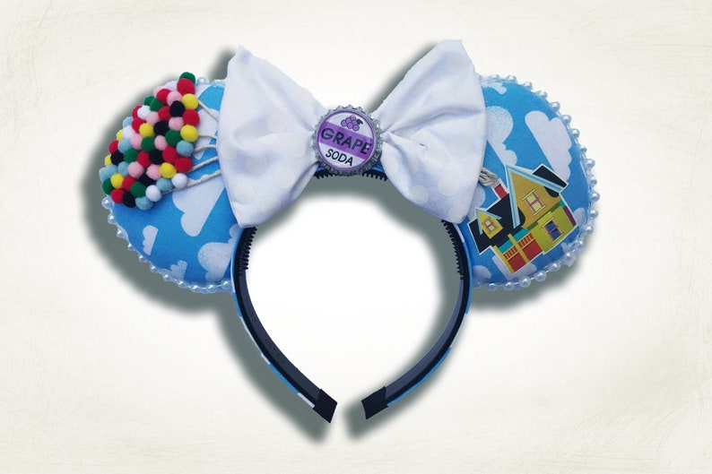 Up Disney Pixar Inspired Mickey Ears  The Original Floating image 0