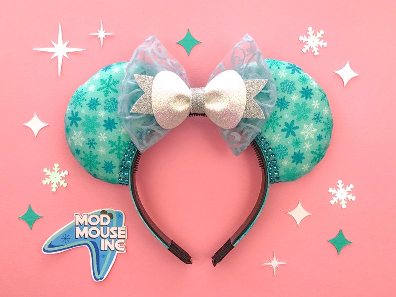 Elsa Inspired Mouse Ears  Frozen 2 inspired Mickey Mouse  image 0