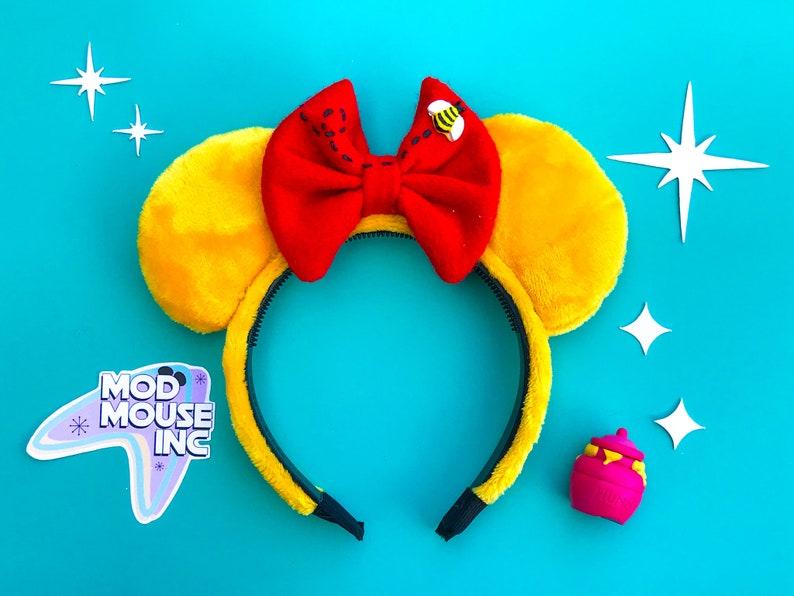 Winnie the Pooh Ears  Pooh Bear Ears  Pooh Mouse Ears  image 0