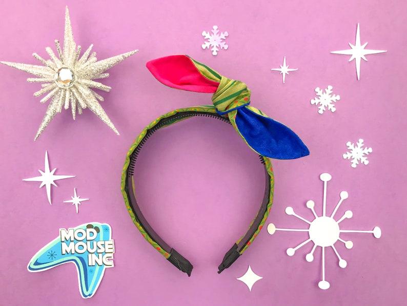 Anna Coronation Dress Dolly Bow  Retro Pin Up Top Knot Hair image 0