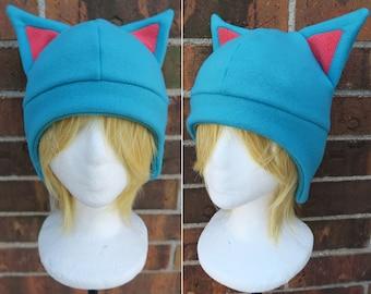 2939d2677d7c5e Happy Fairy Tale Hat - Cat Fleece Hat - Fleece Hat Adult, Teen, Kid - A  winter, nerdy, geekery gift!