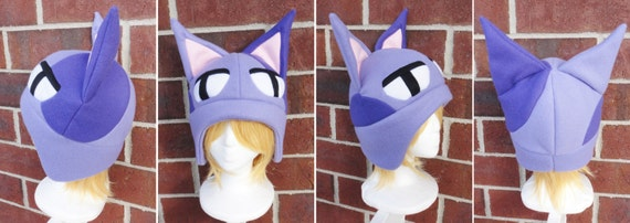 Bob The Cat Animal Crossing New Horizons Fleece Hat Adult Etsy