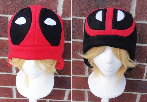0a12416b84a0d Deadpool Hats Fleece Hat Adult Teen Kid A winter nerdy