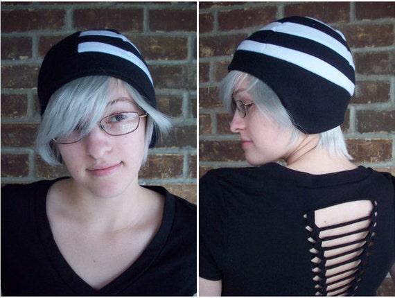 d5d10f534f9 Death the Kid Soul Eater Hat Fleece Hat Adult Teen Kid A
