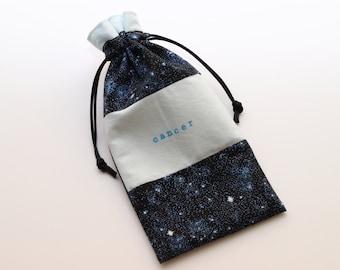 Cosmic Cancer Tarot bag (small-medium)