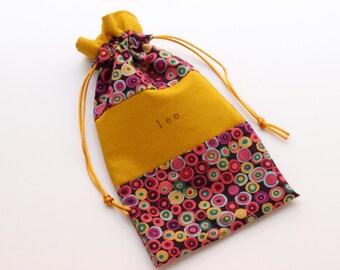 Golden Leo Tarot bag (small-medium)