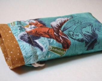 Sagittarius Tarot bag (medium) pouch for oracle cards + deck readings