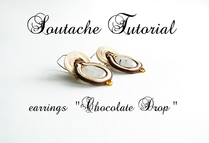 Soutache tutorial   beading tutorial  beading tutorials and image 0