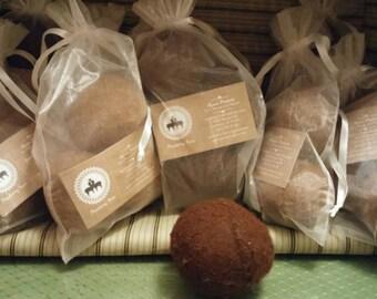 Alpaca Wool Dryer Ball Set- Trio