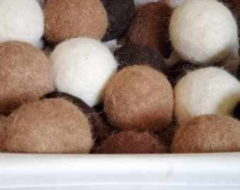 Alpaca Wool Dryer Ball Set-Quad