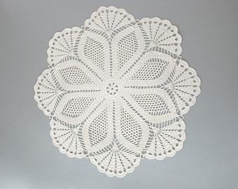 Crochet Doily Pattern, DIY, vintage pattern, digital PDF download
