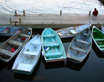 5 Boats, Birds, & Piers in Maine  scenic hi res digital images - package for Marji