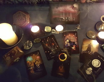 Gothic Moon Tarot Cards Limited Edition