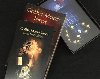 Gothic Moon Tarot Large Print Edition