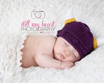 Toddler Minnesota Vikings Hat 6 mo - 3 yrs 44bdc841c