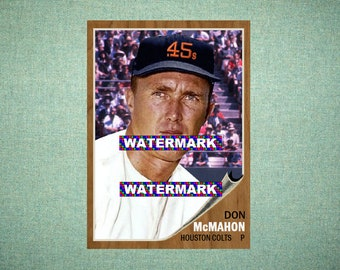 Billy Goodman Houston Colt 45s 45 Custom Baseball Card 1962 Style Card That Could Have Been by MaxCards Mint Condition 2018