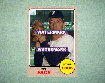 1968 Detroit Tigers Etsy