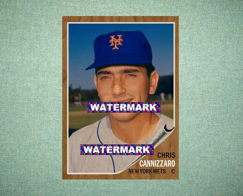 Honkbal Verzamelkaarten: sport Ron Swoboda New York Mets 1965 Style Custom Baseball Art Card