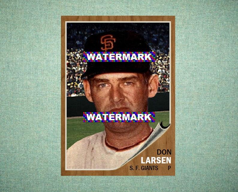 Verzamelingen Bob Garibaldi San Francisco Giants 1962 Style Custom Baseball Art Card Verzamelkaarten: sport
