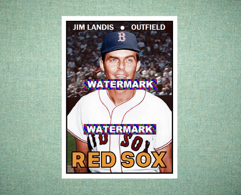 Verzamelkaarten: sport Jerry Stephenson Boston Red Sox 1967 Style Custom Baseball Art Card Verzamelingen