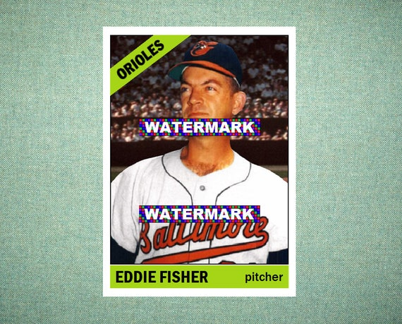 Jack Fisher Baltimore Orioles Custom Baseball Card 1959 Style Card That Could Have Been by MaxCards Mint Condition 2017