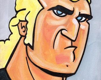 Brock Samson from Venture Brothers - Print