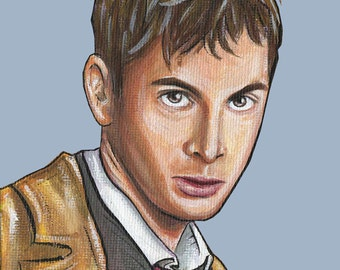 Doctor Who Tenth Doctor (10) David Tennant - Print