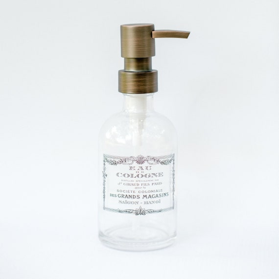 Hand Soap Dispenser Farmhouse Bathroom Decor Kitchen Soap Etsy
