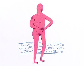 Marcus Aurelius Naked Man