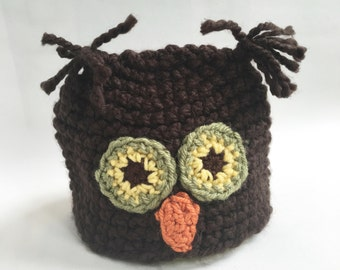 Whoooo Needs an Owl Hat? (Brown)