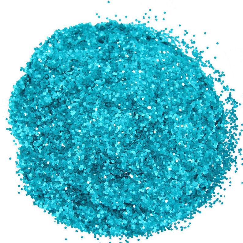 0.040 Hex Glitter Nail Art GLITTER SOLVENT RESISTANT Teal Glitter Craft Glitter Nail Polish Glitter Teal Nail Art Slime Glitter