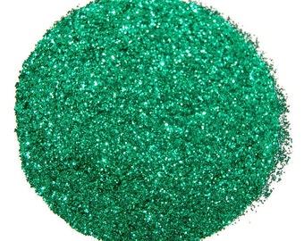 Green Nail Glitter, Emerald Green Glitter, SOLVENT RESISTANT, Nail Art, Nail Polish Glitter, Glitter Crafts, Green Glitter, Slime Glitter
