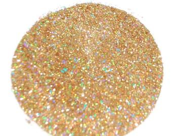 Gold Holo Glitter, Holographic Glitter, Gold Nail Glitter, Nail Art, Holographic Glitter, Solvent Resistant, Glitter, Nail Glitter, Gold