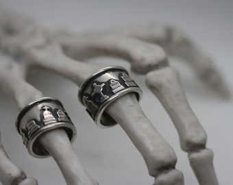 Cemetery Band ring