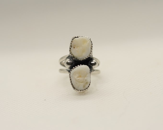 Double Tooth Ring Made to Order
