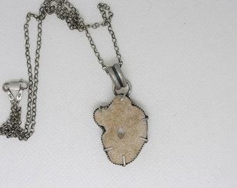 Hag stone necklace 1