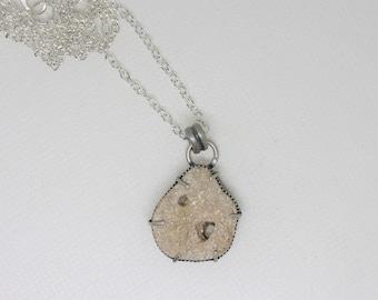 Hag stone necklace 2