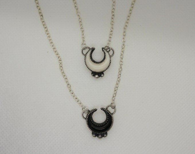 Horned Moon Necklace