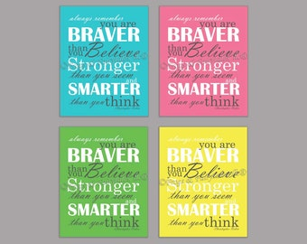 Christopher Robin Quote Canvas Wall Art