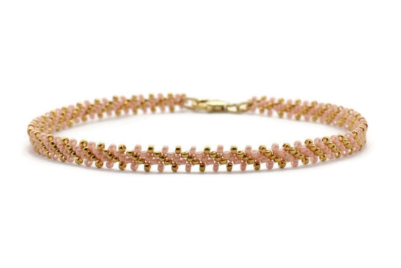 Pink Foot Bracelet Delicate Jewelry for Women and Girls Daisy Chain Ankle Bracelet