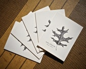 5-Notecard Set: Black Oak...