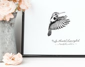 Hummingbird Print | 8&quo...