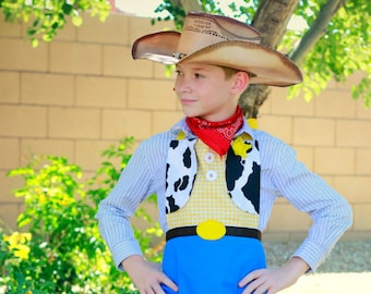 Cowgirl Sidekick Character Apron CHILD SIZE