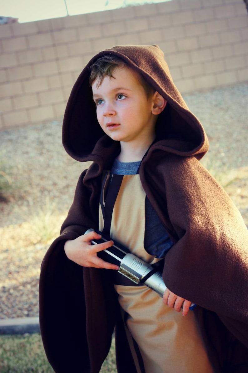 Star Wars Jedi Robe Cape Cloak Disney Inspired Luke Skywalker Etsy