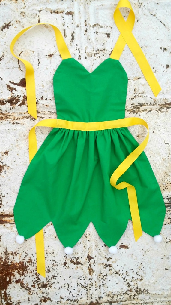 TINKERBELL Fairy Disney inspired Costume APRON Teen/ Adult. | Etsy