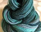 Handspun Yarn: Lichen Hop
