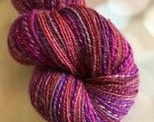 Handspun Yarn: Berry Season